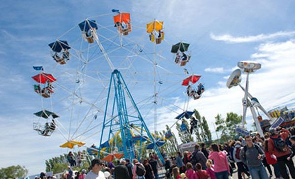 Ferris Wheel at the Canterbury A & P Show