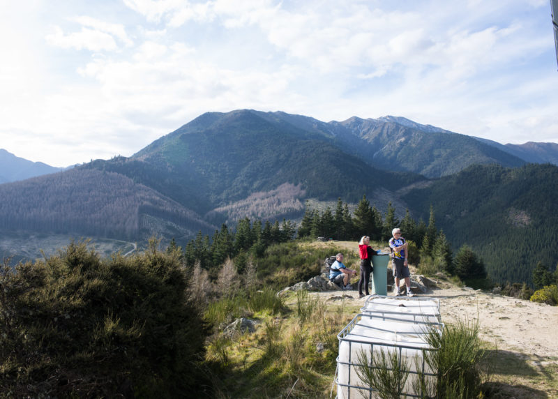 Hiking Conical Hill, Hanmer Springs