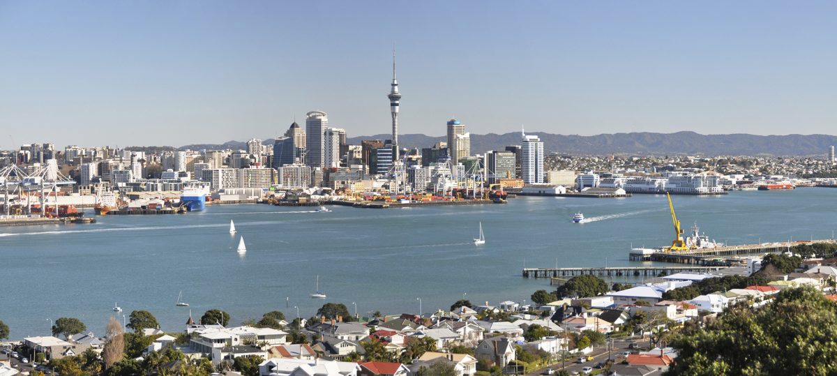 Auckland City Backpacking guide