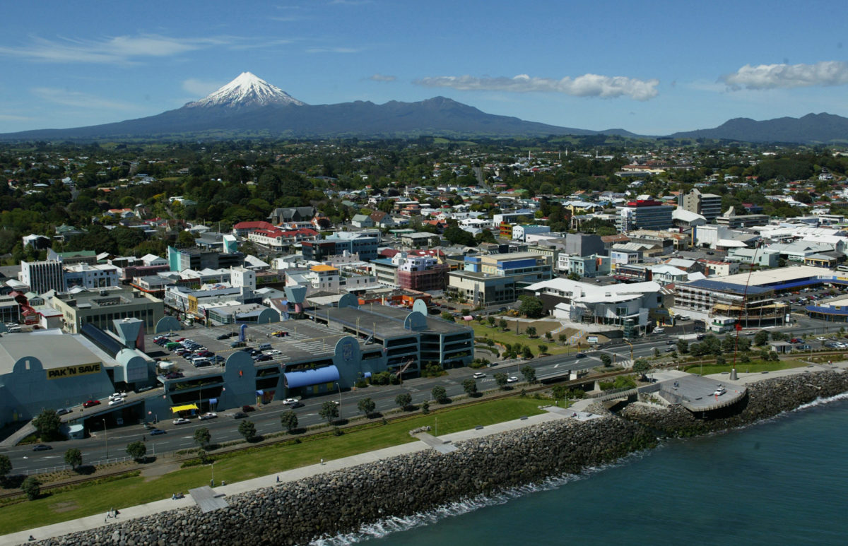 New Plymouth City. Image by Rob Tucker