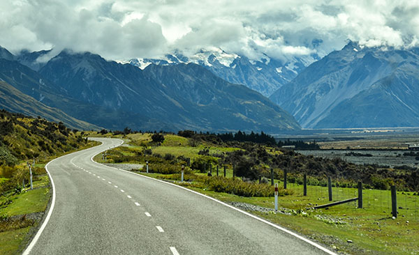 New Zealand's Southern Alps, home to majestic Aoraki Mt Cook.
