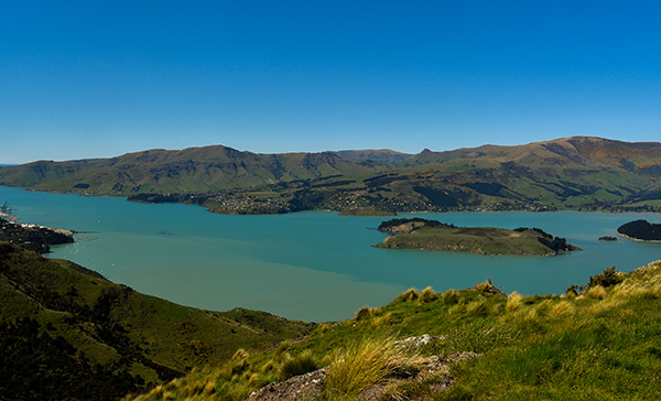 The historic South Island town of Akaroa.